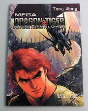 ESZ2220. MEGA DRAGON & TIGER Vol. 2 Future Kung Fu Action TPB from Comics One~