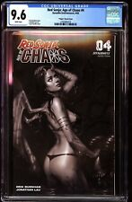 Red Sonja Age of Chaos 4 CGC 9.6 Virgin Sketch Variant