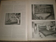 Photo article Fleishman's Bakery Broadway and 10th New York USA 1903 ref Z