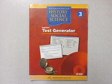%Houghton Mifflin History-Social Science 3 ExamView Test Genrator CD 0618498931