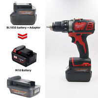 Batterie Adapter Für  MAKITA 18V BL18 Slider Li-ion Battery to Milwaukee M18 18V