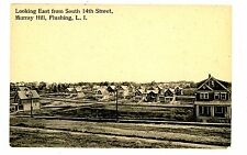 Flushing Queens LI NY-SOUTH 14TH STREET IN MURRAY HILL SECTION- Postcard