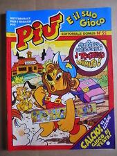 PIU e il suo Gioco n°55 1983 He Man Master of Universe Ed. Domus  [G416]