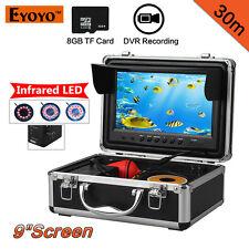 "EYOYO30M9""LCD8GBUnderwaterVideoCameraFishFinderw/DVR Infrared Original"