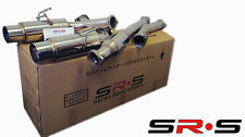 SRS Dual Catback Exhaust SYSTEM 08-15 Mitsubishi Lancer EVO X Evolution 10 Jdm