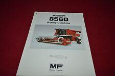 Massey Ferguson 8560 Rotary Combine Dealers Brochure Yabe11