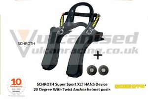 HANS Device FHR Schroth SUPER SPORT XLT Hans FHR - 20 Degree with posts LARGE