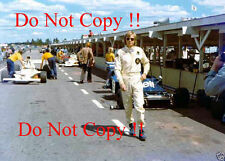 Ronnie Peterson JPS Lotus F1 Portrait Swedish Grand Prix 1973 Photograph