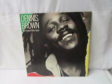 Dennis Brown ~ The Prophet Rides Again ~ 1983 A&M Records ~ promo LP Record
