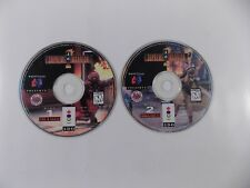 PANASONIC 3DO SUPREME WARRIOR 2-DISC VIDEO GAME SET FIRE EARTH WIND FANG TU