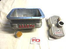 COPPA OLIO E COPERCHIO PUNTERIE ABARTH PER FIAT 500/126  SCRITTA ROSSA
