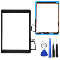 OEM SPEC Black Touch Screen Glass Digitizer For iPad Air 5 Adhesive Home Button