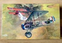Eduard Dawn Patrol WW1 Fighter Planes. Spad Xlll & Fokker D.Vll. 1:48th Scale
