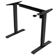 iMount E21S Electric Height-adjustable Standing Desk Frame Black