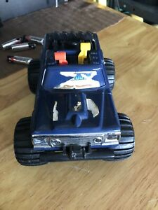 Vintage 1983 Playskool Bigfoot 4x4x4 460 Powered Truck Works  No Key