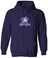 Pullover Sweatshirt Hoodie Sweater Unisex Winnie the Pooh Eeyore Gloomy Donkey