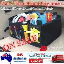 Waterproof Collapsible Car Boot Organiser Truck Space Save Tidy Foldable Storage