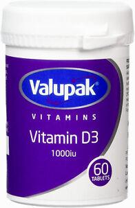 valupak vitamin d3 X6
