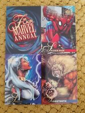 Flair Marvel Annual 1995 Promo Avertisment Cards Trading Cards