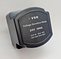 24V 100 AMP SPLIT CHARGE VOLTAGE SENSITIVE RELAY (VSR) CAMPERS, BOATS ETC