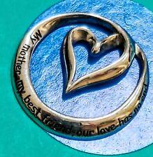 Bracelet R32 Heart Sterling Silver Vintage Charm