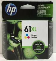 (New) HP 61XL Tri-Color Ink Cartridge Exp 02/2021+
