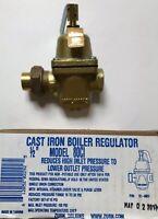 "ZURN WILKINS 12-80CI 1/2"" CAST IRON BOILER REGULATOR. Opened Box Item. New"