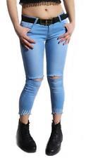 Röhre/Tregging Damenhosen aus Baumwolle in Übergröße