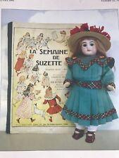 Bleuette Doll WARDROBE Patterns 10+  DRESSES  UNDERPANTS APRON PURSES