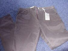 Linea mens cotton blend dark grey trousers 34 W 32 Length BNWT