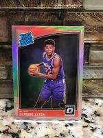 2018-19 Donruss Optic DeAndre Ayton RC Suns Rated Rookie SILVER Prizm Holo #157