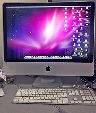 "Apple iMac 24"" A1225 2.8 GHz intel core duo 4GB ram 1TB drive"