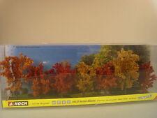 Herbst Bäume - 7 Stck.  Laub Bäume - Noch HO 25070 #E
