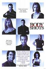 BODY SHOTS - 1999 orig rolled 27x40 D/S Movie Poster - TARA REID, AMANDA PEET