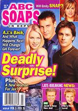 ABC Soaps In Depth Magazine February 15 2005 Ingo Rademacher Alicia Leigh Willis