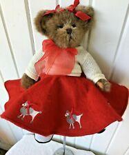 Betty Bop 1950s Bearington Plush Bear - Saddle Shoes, Poodle Skirt, Tush Tags