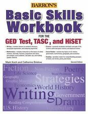Basic Skills Workbook For The GED TEST, TASC, And HiSET Barron's Pre-Ged