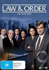 Law And Order : Season 9 (DVD, 2016, 6-Disc Set)