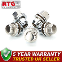 5x Stainless Steel Wheel Nuts + Washers For Discovery + Range Rover 22mm Hex