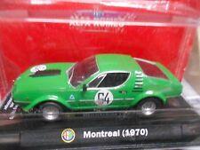 ALFA ROMEO Montreal Racing breit Corsa Nürburgring 1973 #64 Gleich Welz M4 1:43