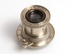 """Leica Leitz Elmar """"Nickel"""" 1:3,5 f=50 mm #137153  M39 Gewinde"""