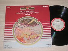 FRANZ SCHUBERT - QUINTETTO PER ARCHI IN LA magg OP. 114 - LP 33 GIRI ITALY