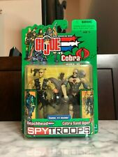 Hasbro GI Joe VS Cobra Spy Troops Beachhead & Sand Viper figure 2 pack *NEW*