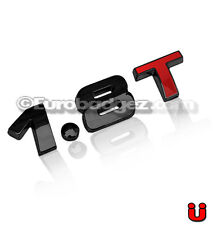 1 VW Volkswagen Jetta Passat GTI Golf GLI Black Emblem Badge 19mm 1.8T BLACK RED