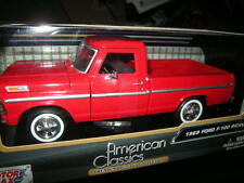 1:24 Motor Max Ford F-100 Pickup 1969 rot/red OVP