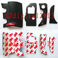 4 PCS NEW Digital Camera Body Rubber Shell For Nikon D700 Repair Parts + Tape