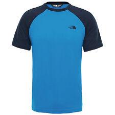 The North Face Mens Tanken Raglan Tee Blue T-Shirt NF0A3BQ7NX0