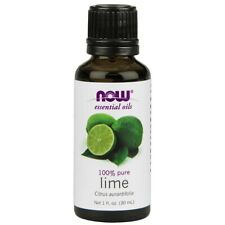 NOW FOODS 100% PURE Lime Essential Oil 1oz (30 ml),Clearance for stained/ dented