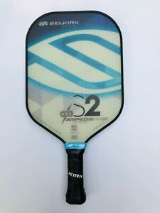 Selkirk Sport Pickleball Paddle S2 AMPED Lightweight Blue New