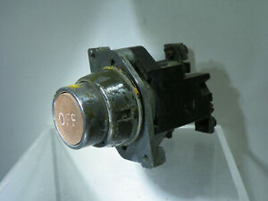 Heritage Electrical Part ~ 'OFF' Push Switch - Most likely from Ground Equipment